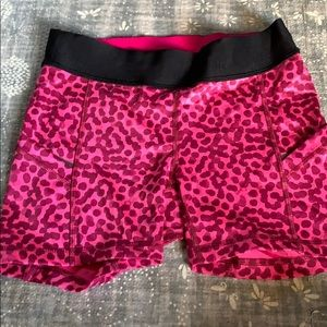 Lululemon pink cheetah? Shorts size 4